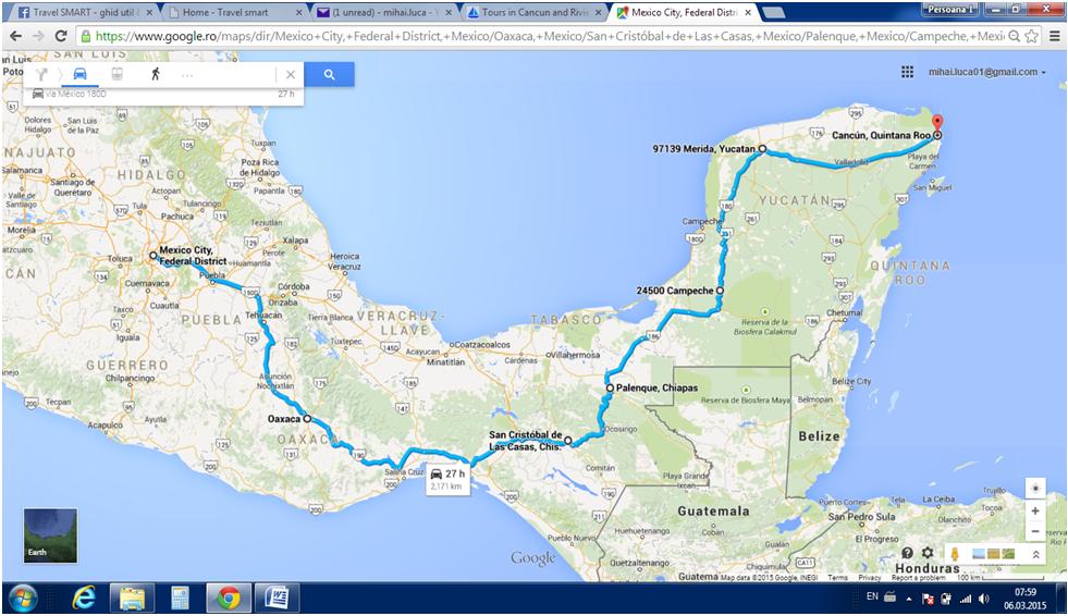 mexic traseu 1