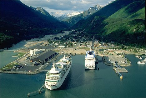 Skagway and Cruise Ships