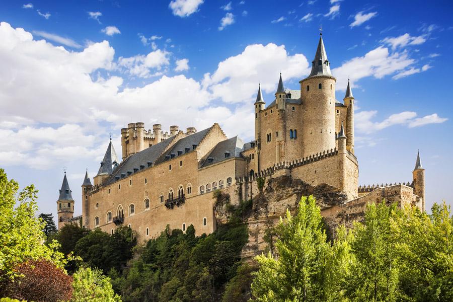 castele spania segovia alcazar