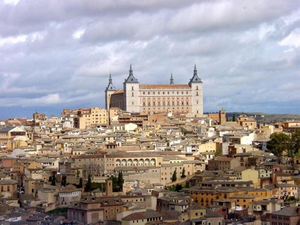 castele spania toledo alcazar