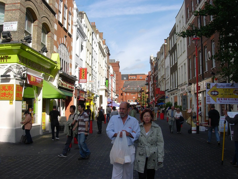 londra china town