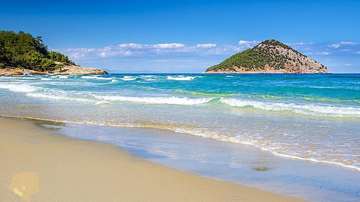 thassos paradise beach