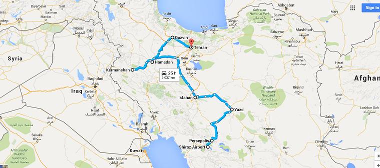 iran map 1