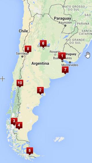 argentina map 1