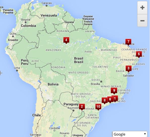 brazilia map 1