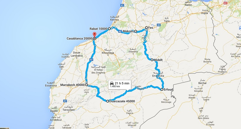 maroc map 2
