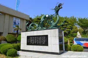 Yongdusan park - dragon