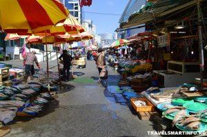 Busan fish market - Jagalchi