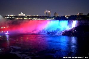 Niagara falls by night