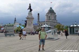 QUEBEC CITY - Dufferin terrace