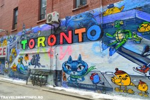 TORONTO - GRAFFITY ALLEY