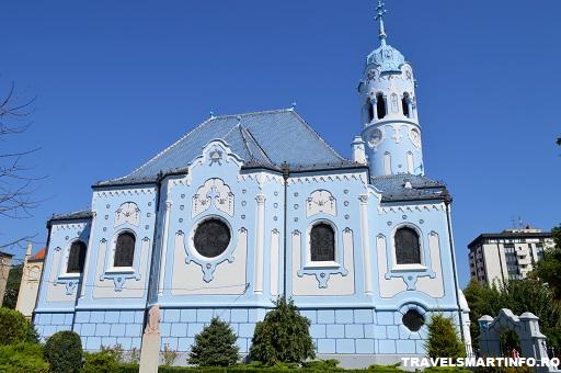 St. Elizabeth sau Biserica Albastra