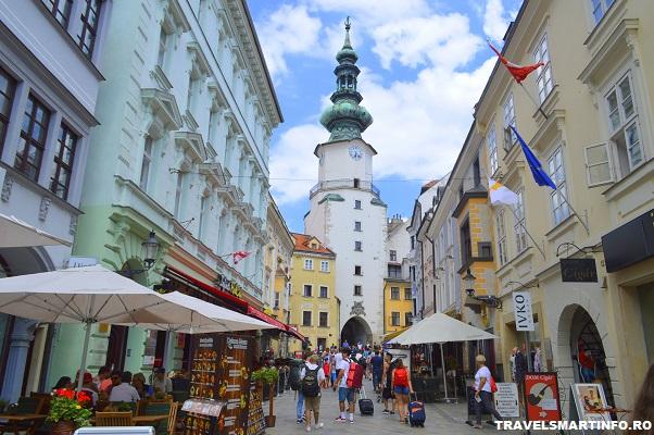 Bratislava - Michael gate & tower