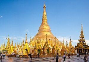 MYANMAR - Pagoda Shwedagon