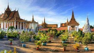 CAMBODGIA - Phnom Penh - Royal Palace