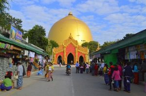 MYANMAR - Kaunghmudaw Pagoda