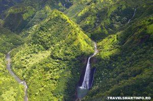 HAWAII - KAUAI - Manawayopuna Falls