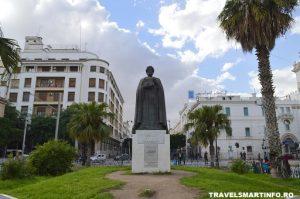statuia lui Habib Bourguiba