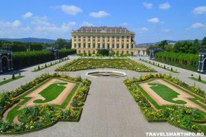 Schloss Schönbrunn - gradinile regale