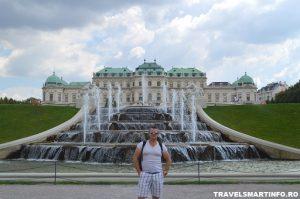 Palatul Belveder - gradinile