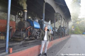 Darjeeling Himalayan Railway - depou locomotive