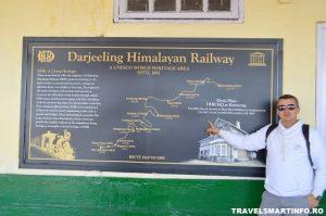 Darjeeling Himalayan Railway - harta traseului