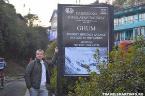 Darjeeling Himalayan Railway - statia Ghum