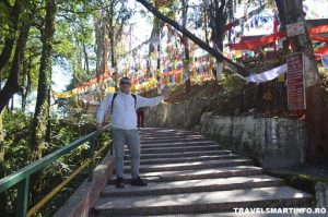 Templul Mahakal Mandir - drumul de acces