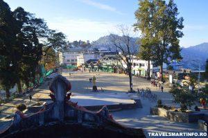 Piata Chowrasta - vedere din spatele pietei