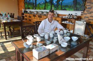 Preparare si degustare de ceai