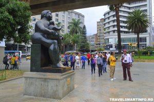 Medellin - Piata Botero