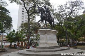 Medellin - Piata Simon Bolivar