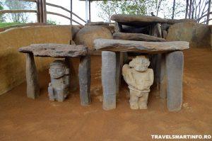 Parcul Arheologic Alto de los Idolos - statui antropomorfe