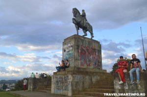 El Morro de Tulcan - Statuia Sebastián de Belalcázar