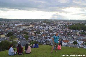 Colina El Morro de Tulcan - vedere asupra Popayan