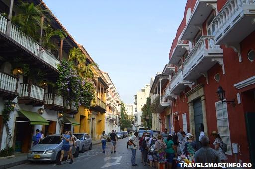 Strazile din Cartagena