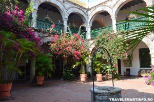Cartagena - Convento de la Popa - curtea interioara