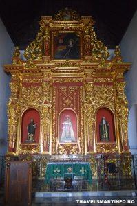 Cartagena - Convento de la Popa - altarul