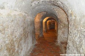 Castelul San Felipe de Barajas - tunelurile