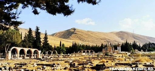 Sit-ul arheologic Omayyad - vedere generala