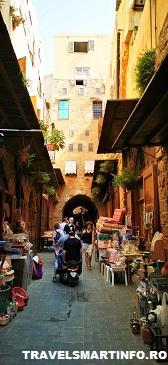 Stradutele din bazarul vechi