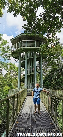 Sepilok Canopy bridges