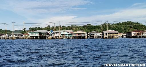 Brunei - asezarea plutitoare Kampong Ayer