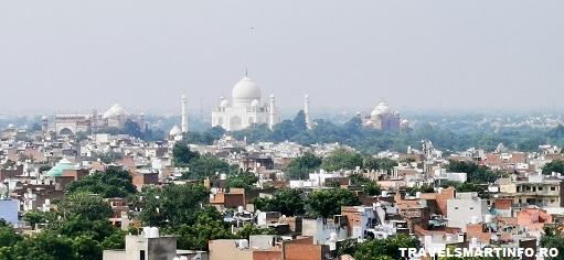 Tah Mahal - view de la hotel