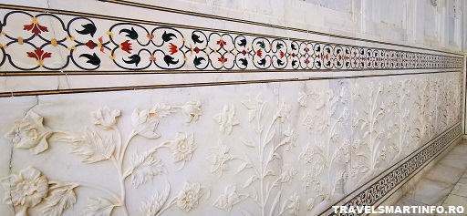 Taj Mahal - decoratiuni interioare