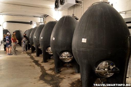Crama Vermont - productia vinului