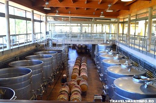 Crama Matetic - productia de vin