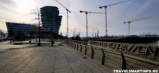 Cartierul Hafencity - terasa Marco Polo