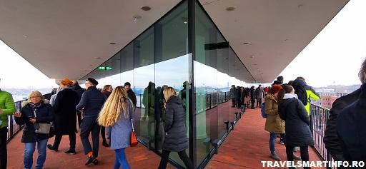 Elbphilharmonie. Platforma cu terasa.
