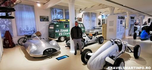 Muzeul Prototyp - expozitia Porsche